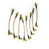 Right Angle MCX Male To SMA Male Cable RG316